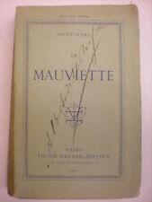SAINT-JURIS LA MAUVIETTE 1883 CALMANN LÉVY ÉDITEUR