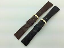 SHORT 16mm 18mm 20mm MS700 Hadley Roma Genuine Java Lizard Leather Watch Band