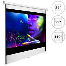 """Écran de projection 84"""" 99"""" 110"""" home cinéma vidéo projecteur 16:9 4:3 HD TV 3D"""