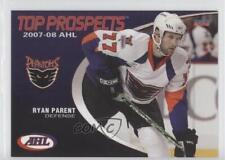2007 Choice AHL Top Prospects #32 Ryan Parent Lehigh Valley Phantoms (AHL) Card