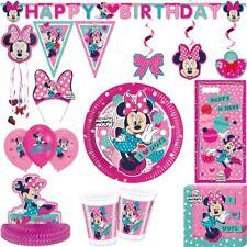 Minnie Mouse anniversaire d'enfant rose SOURIS Set Mickey fête déco