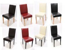 Set 2x sedie Littau pelle per sala da pranzo 43x56x90cm colore a scelta