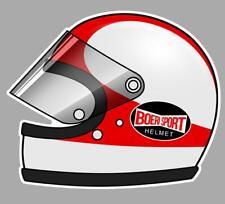 Jarno SAARINEN left helmet gauche Sticker