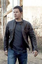 Contraband Mark Wahlberg Mens Slim Fit Motorcycle Biker CowHide Leather Jacket