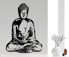 Buddha - Wohnzimmer Wellness Ruhe Asien Deko Buddhismus Wandaufkleber WandTattoo