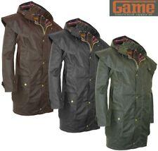 Game Kensington Mens Wax Short Cape Coat