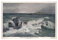 WAR POSTER ( U BOAT ) - NOVELTY FRIDGE MAGNET - BRAND NEW