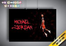 Poster MICHAEL JORDAN DUNK BASKETBALL LEGEND