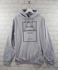 Actual Fact Wu Tang 36 Chambers Grey College Hoodie Hoody Pullover Top