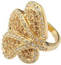 Zest Petal Ring with Swarovski Crystals