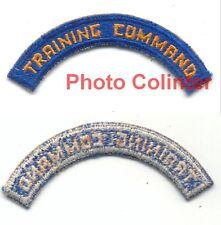 US Army Air Force : titre d'épaule Training Command