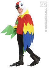 Childrens Parrot Fancy Dress Costume