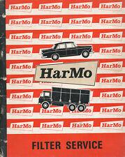 HarMo Filterservice Katalog 10/68 brochure Prospekt