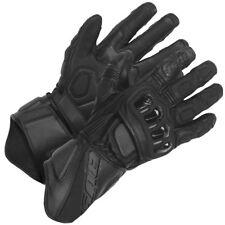 Büse Aragon schwarz Top Motorrad Racing Handschuhe mit Protektoren und Belüftung
