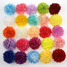 "1.96"" Artificial Daisy Heads Silk Flowers Head Sunflower for Wedding Home Decor"