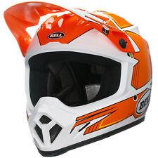 BELL MX-9 BLOCKADE Orange Racing HELMET **NEW** Motocross