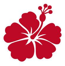 Hibiskus Blüte 9,5cm - Wandtattoo Aufkleber vers.Farben