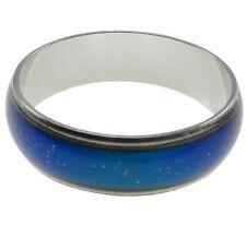 Enamel Mood Finger Ring Color Changing Silver Ring