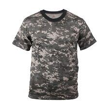 Digital Camouflage T-Shirt Subdued Urban Digital Camo Military Rothco 5960