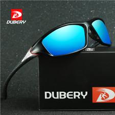 DUBERY Men Polarized Sunglasses Outdoor Driving Men Women Sport Eyewear Gift