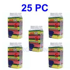 5 To 25 PC Sponges Dish Washing Sponge Scrubber Kitchen Cleaning Tools Helper BU
