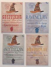 Harry Potter Sorting hat Gryffindor Ravenclaw Slytherin Hufflepuff groups magnet