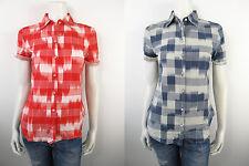 Guess Bloes Bluse Shirt Overhemd Top Neu Kariert W22H02 XS S M XL