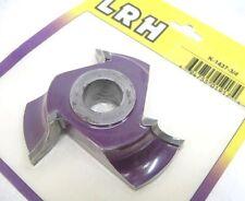 "LRH K-1437 shaper cutter molder 5/8"" radius quarter round concave 3/4"""