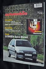 Revue technique automobile Citroen saxo diesel n° 596