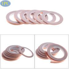 New listing Single Side Conductive Strip Adhesive Copper Foil Tape Shielding Heat Resist