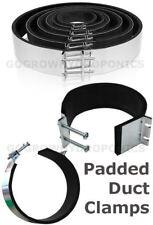 "Neoprene Padded Ducting Clamp/Collar - 4"", 5"", 6"", 8"", 10"", 12"""
