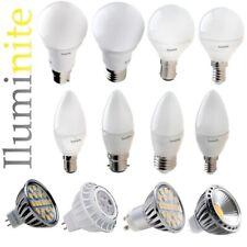 LED Candle Globe GLS Golf Ball MR16 GU10 Light Bulbs E14 B22 B15 E27 5W 6W 7W 9W