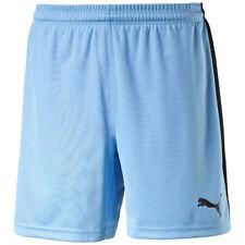 PUMA Kinder Sporthose kurz Shorts pearl blue black