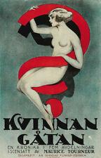 Woman Maurice Tourneur 1918 vintage movie poster print