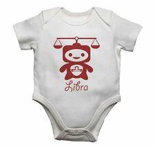 Libra Signo Zodiacal Gracioso Enterizo para Bebé mono camiseta Regalo