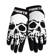 Pirate Handschuhe lang NEO schwarz, Pirat, Skull, Totenkopf