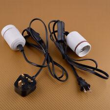 E27 Reptile Ceramic Heat Bulb Socket Holder Adapter Lamp Light Heater Max 300W