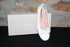 TAMARIS @ Damen Ballerina @ Dirndl Schuhe @ Tracht @ weiß Lack @   36 - 41