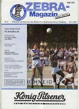 BL 91/92 MSV Duisburg - FC Schalke 04