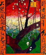 Flowering Plum Tree after Hiroshige by Vincent van Gogh