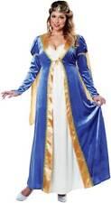 Plus Size Royal Empress Renaissance Queen Dress Princess Costume Adult Women