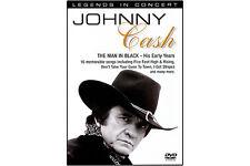 JOHNNY CASH-THE MAN IN BLACK, Good DVD, ,