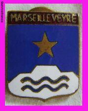 BG982 Insigne BLASON MARSEILLE VEYRE (collège)