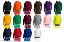 Peaches Pick Mens S-L XL 2XL 3XL NuBlend 1/4 Zip Hooded Sweatshirt Hoodie Jumper