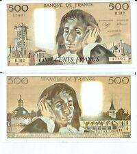 Gertbrolen 500 FRANCS PASCAL du 1-2-1990    R. 312 Billet Numéro  779147407