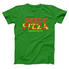 Deed's Pizza Shop Funny Humor New Hampshire Green Basic Men's T-Shirt