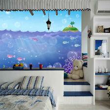 Papel Pintado Mural De Vellón Burbuja De Pescado Islas 2 Paisaje Fondo Pantalla