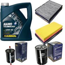 Ölwechsel Set 5L MANNOL Nano Technology 10W-40 Motoröl + SCT Filter KIT 10141686