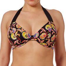 Freya Swimwear Samara Bandess Halter Bikini Top Black 3741