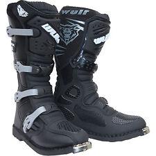 Wulfsport Trackstar Mx  Boots Dirt Bike Quad Atv Off road Boots MX adults